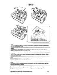Epson DFX-5000+ Справочник Пользователя