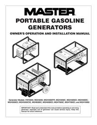 MASTER LOCK MGH4000C User Manual