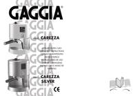 Gaggia Carezza Operating Guide