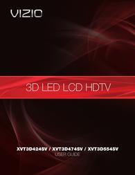 VIZIO XVT3D424SV User Guide