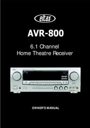 Eltax AVR-800 User Manual