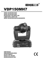 HQ Power AERON 150S moving head VDP150MH7 User Manual