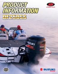 Suzuki DF250SS Product Manual