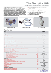 Triax TOL 32 307610 Leaflet