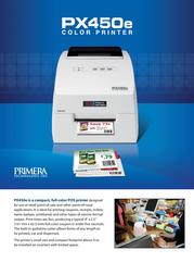 PRIMERA PX450e 74242 Dépliant