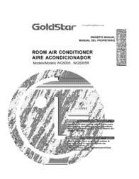 Goldstar WG5005 User Manual