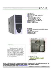 Apex PC-319 Leaflet
