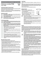 P3 International MOLE REPELLER P7940 Data Sheet