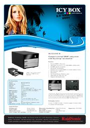 Raidsonic IB-3221STU-B Leaflet