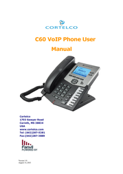 Cortelco IP Phone C60 User Manual