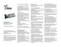 Grandstream Networks GXP280 GXP-280 Leaflet