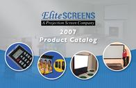 Elite Screens Electric84V Brochure