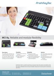 PrehKeyTec MCI 84 90328-303/1800 Leaflet