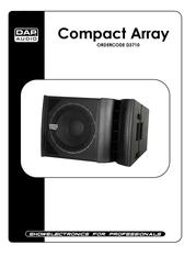 DAP Speaker D3710 User Manual