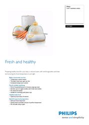 Philips AVENT 3-in-1 nutrition centre SCF280 Leaflet