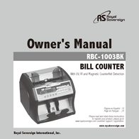 Royal Sovereign RBC-1003BK User Manual