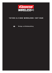Carrera Wireless+ Set Duo 20010109 Data Sheet