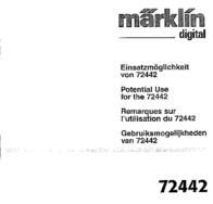 Maerklin Märklin 72442 72442 Data Sheet