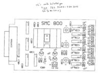 Emis SMC-800 Stepper Motor Card SMC-800 Data Sheet