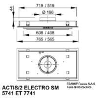 Roblin Actis/2 Pro 7741 Electro 6207103 Diagram