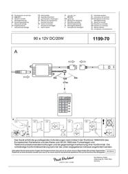 Paul Neuhaus Decorative Lighting 1199-70 1199-70 Data Sheet