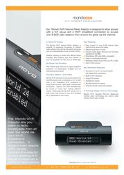 Revo Mondo Wi-Fi 23012 Leaflet