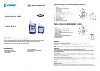 M E Modern Electronics m-e modern-electronics 10604 Max. range (open field) 400 m 10604 Data Sheet