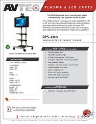 Avteq RPS-400 Leaflet