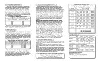 Stinger Power Series 300-Amp Battery SPV20 Leaflet