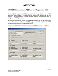 Logic Controls KB5000 Supplementary Manual