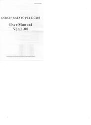 SYBA SY-PEX50043 Leaflet