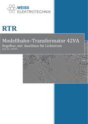 Weiss Elektrotechnik 311-0002-100 Data Sheet