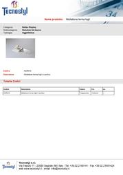 Tecnostyl ACR010 Leaflet