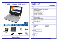 Salora DVP7007 Portable DVD player DVP7007 Leaflet