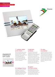 Parrot DF7220 PF635010AA Leaflet