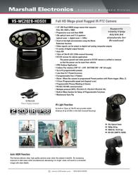 Marshall Electronics VS-WC202B-HDSDI Leaflet