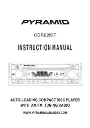 Pyramid Car Audio CDR22KIT User Manual