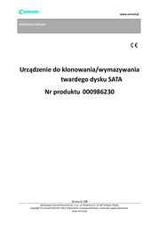U Reach CONRAD SATA-FESTPLATTEN-CLONER/ERASER PRO118 User Manual