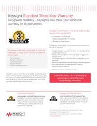 Keysight Technologies U1451A Insulation measuring device, U1451A Information Guide