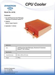 Dynatron H17G Leaflet