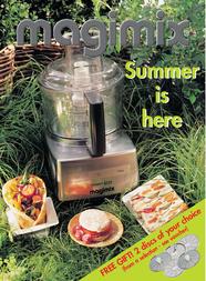 Magimix 3200 compact food processor MAG3200CWIT User Manual