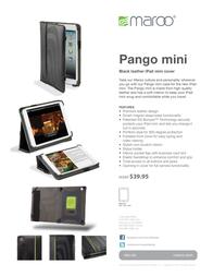 Maroo PANGO mini MM-400 Leaflet