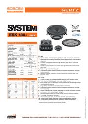 Hertz ESK 130.5 Leaflet