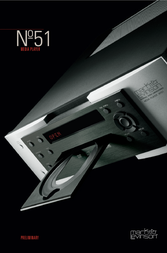Mark Levinson Media Player N51 User Manual