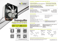 Gelid Tranquillo CC-TRANQ-01-A Leaflet