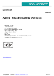 Mountech AJL33B Dépliant
