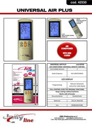 G.B.S. Elettronica 42530 Leaflet