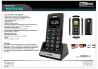MaxCom MM705BB Leaflet