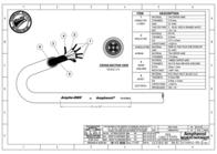 Amphenol DMX-5, M/F, 1m PD7378D001 Leaflet