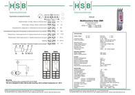 Hsb Industrieelektronik 011201 Time Delay Relay, Timer, 011201 Data Sheet
